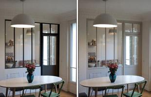 Verrière bois ou métallique | deux styles