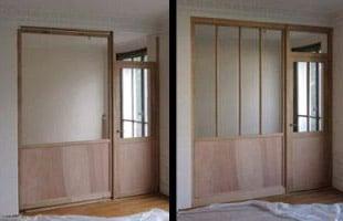 Projet de verrière bois | du dessin à la pose